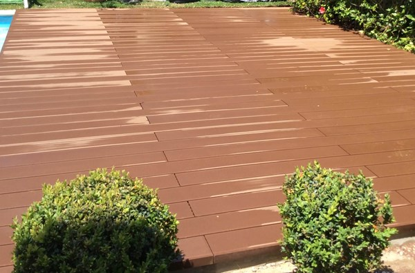 CDECK Deck REDWOOD PISCINA 14