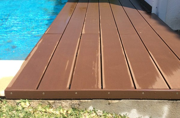 CDECK Deck REDWOOD PISCINA 15