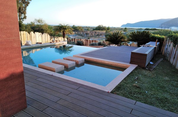 CDECK Deck REDWOOD PISCINA